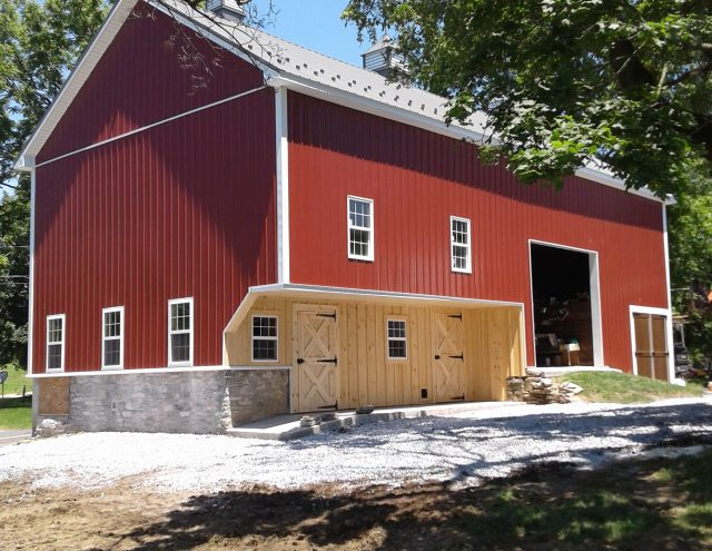 red barn restoration in pa