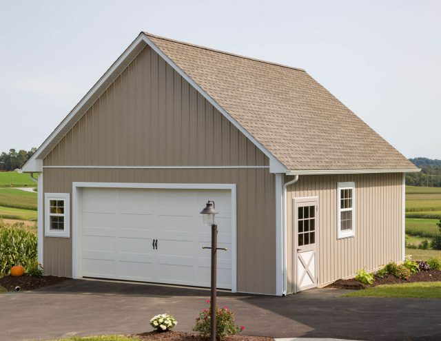 new metal pole barn garage